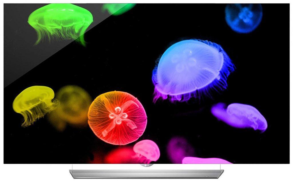 LG Electronics 65EF9500 Flat 65-Inch 4K Ultra HD Smart OLED TV