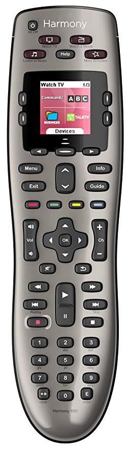 Logitech Harmony 650 Universal Remote - BillLentis.com