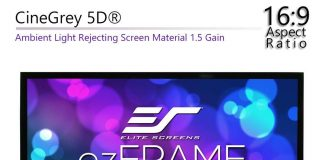 Elite Screens EZFrame Series 120″ - BillLentis.com