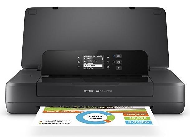 HP OfficeJet 200 Mobile Printer 1- BillLentis.com