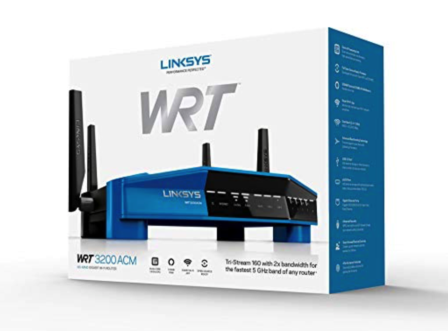 Linksys WRT3200 ACM Wi-Fi Router - BillLentis.com