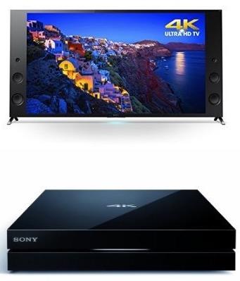Sony XBR65X930C 65-Inch TV with FMPX10 4K Media Player