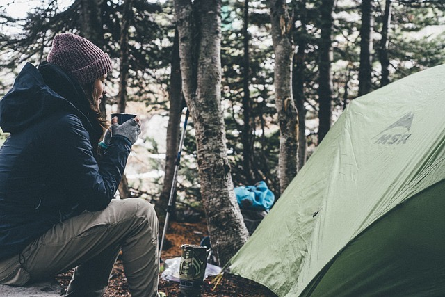 Moms And Children Go Camping - BillLentis.com