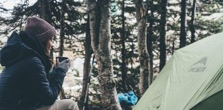 Moms And Children Go Camping - BillLentis.com