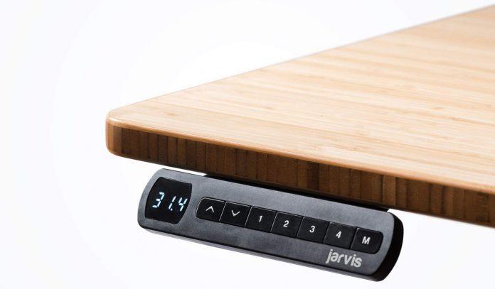 Jarvis Bamboo Standing Desk - BillLentis.com