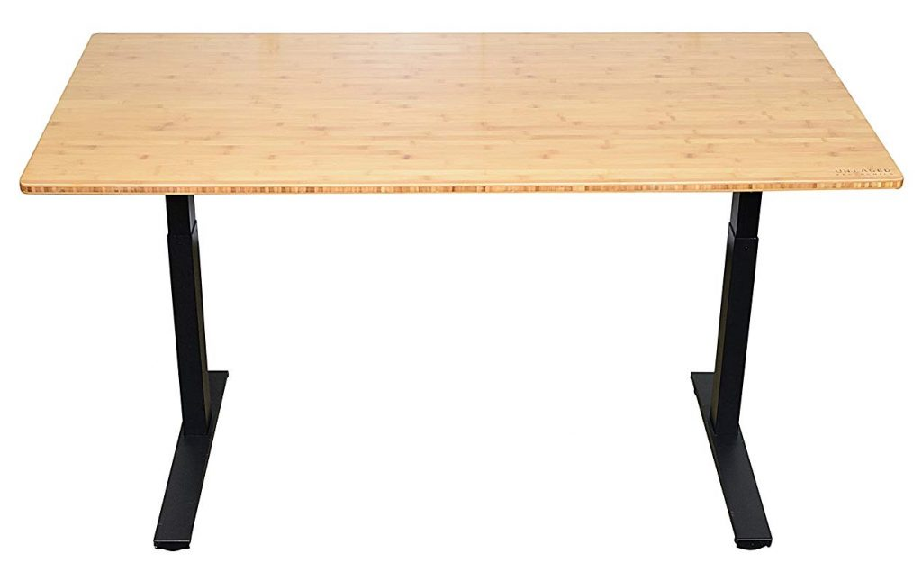 Rise Up Electric Bamboo Standing Desk - BillLentis.com