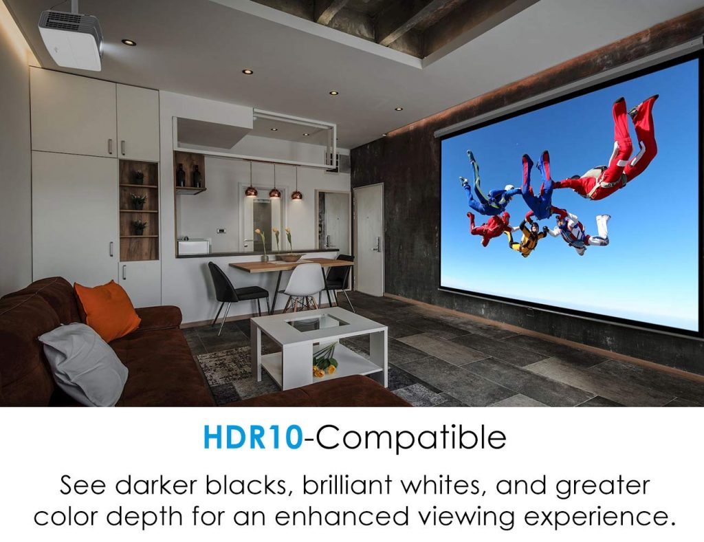 Review Optoma UHD60 True 4K UHD Projector - BillLentis.com