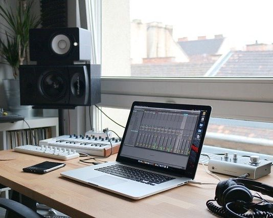 Standing Desk For Laptop - Bill Lentis Media