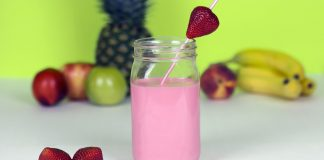 How To Make A Strawberry Banana Smoothie Without A Blender - Bill Lentis Media