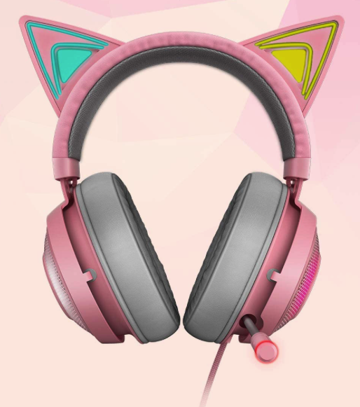 Razer Kitty Edition w/Ears - 00811659033697 - BillLentis.com