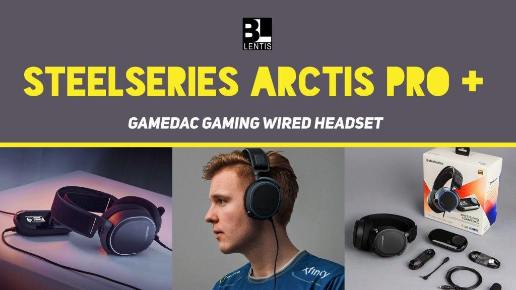 SteelSeries Arctis Pro + GameDAC Gaming Wired Headset - Bill Lentis Media<h3>asdf</h3>